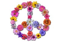 peace, béke, virágok