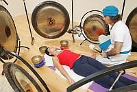 gong, meditáció