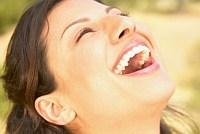 boldog nevetés
