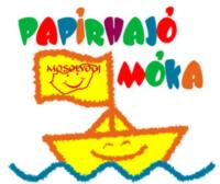 Papirhajó Móka logó