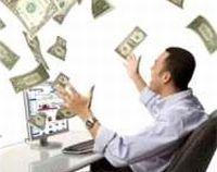 pénzeső, milliomos