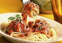 spagetti, hozzávaló