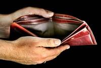 üres pénztárca